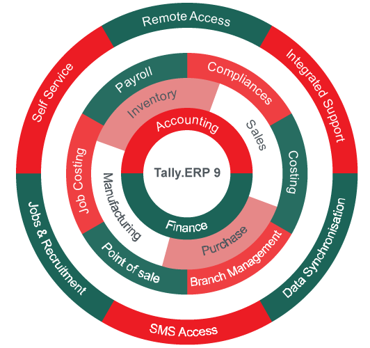 Tally ERP 9 Services in Mumbai | Parth Infotech Solutions Private